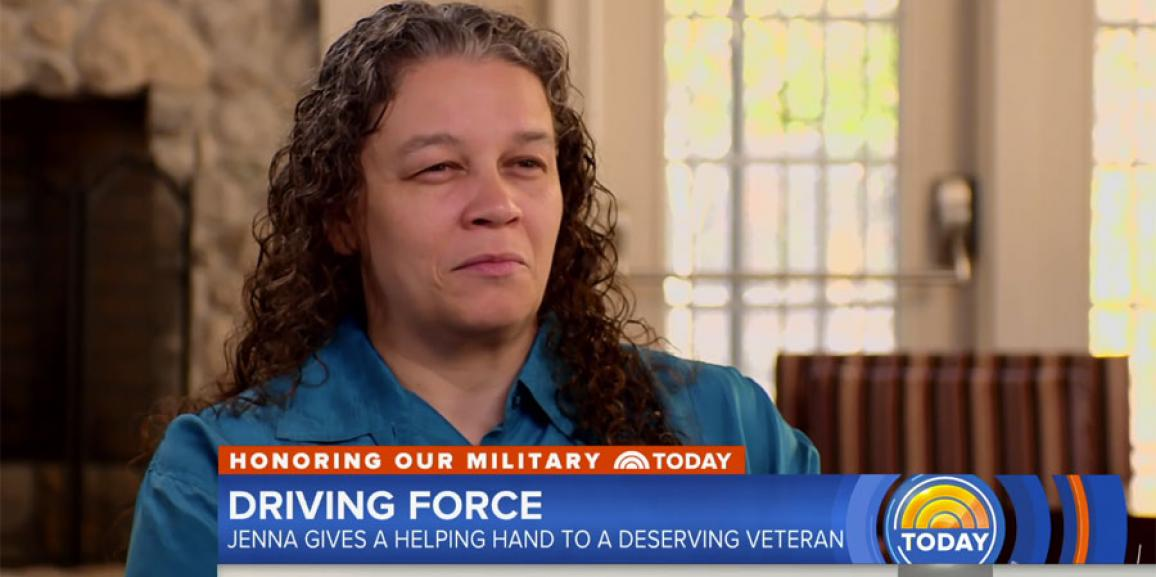 Today Show: Jenna Bush Hager lends helping hand to deserving veteran