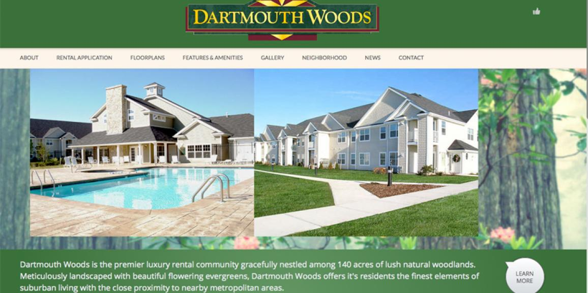 New Dartmouth Woods Website
